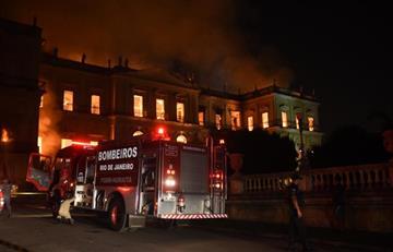 Brasil: Incendio acaba con el Museo Nacional de Rio de Janeiro