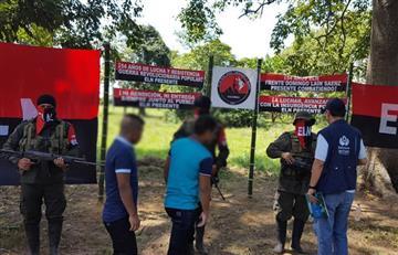 El ELN deja en libertad a dos niños indígenas secuestrados en Arauca