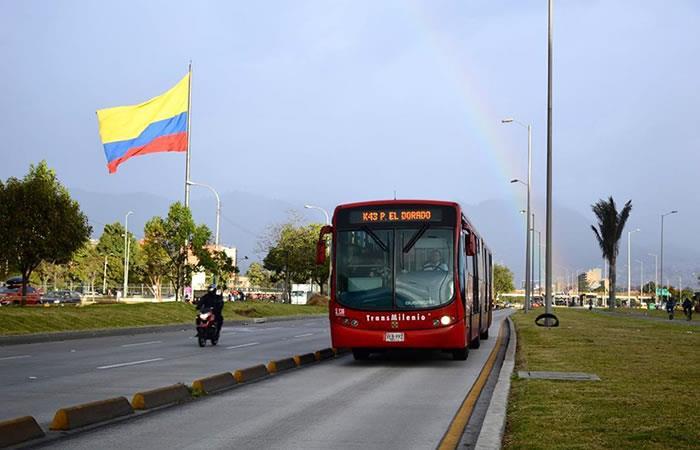 Estudio primer bus eléctrico de Transmilenio. Foto: Instagram