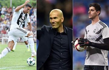 The Best: Cristiano Ronaldo, Zidane y Courtois, finalistas para ser los mejores del año