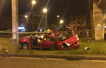 Bogotá: Tragedia tras fuerte accidente vial en Cedritos