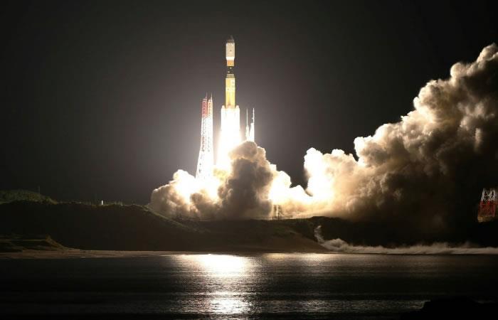 Cohete japonés H-2B llevará el microascensor. Foto: AFP