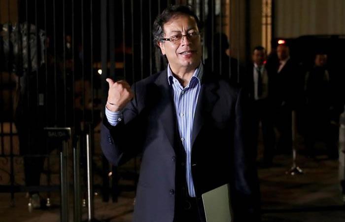 Gustavo Petro alerta al presidente Duque. Foto: EFE