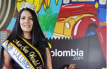 Señora Colombia Pacific World lucha por el hambrede La Guajira