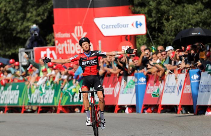 Vuelta a España: De Marchi gana la etapa y Jhonatan Restrepo llega segundo