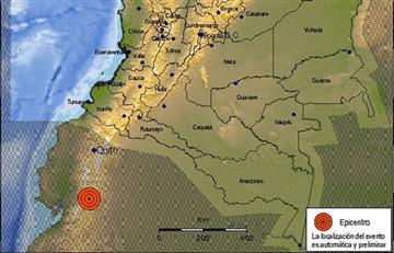 Sismo de 6.5 sacude a Ecuador