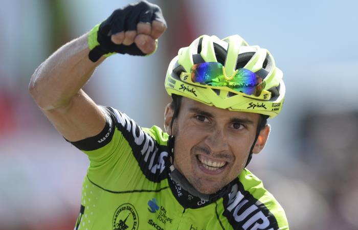 Vuelta a España: Óscar Rodríguez gana la etapa y Nairo asciende en la general