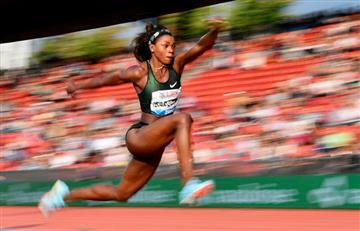 Caterine Ibargüen ganó en el salto triple de la Copa Continental