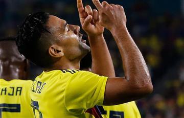 [VIDEO] Así fueron los goles de Falcao y Chará ante Venezuela