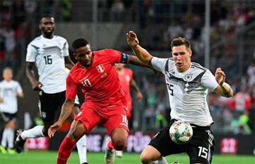 Alemania vence 2-1 a Perú en duelo amistoso