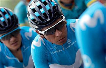 """Nairo Quintana: """"Estamos igualados y ahora espero hacer una buena crono"""""""