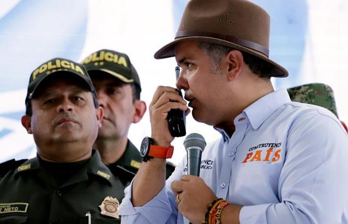 Duque irá a Panamá. Foto: EFE