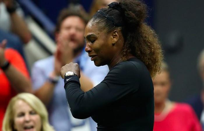 Serena Williams será multada por polémico comportamiento en la final del US Open. Foto: AFP