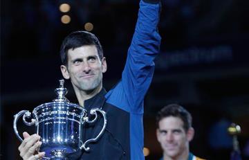 Djokovic le ganó a Del Potro en la final del US Open