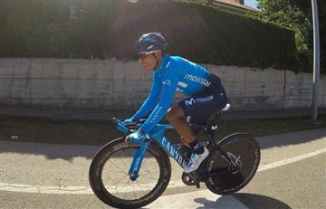 Vuelta a España: Nairo Quintana habló y afirmó 'no ser todopoderoso'