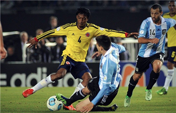 Colombia vs Argentina: El partido terminó con un 0-0