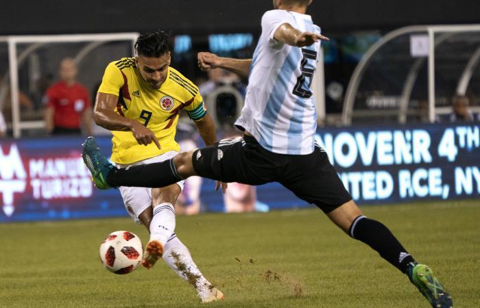 Colombia vs. Argentina: Pálido empate entre las dos selecciones
