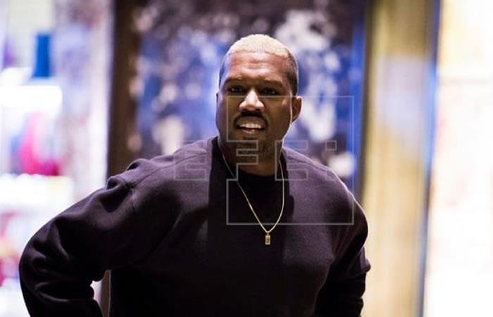 Kanye West está en Colombia. Foto: EFE