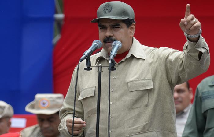 Maduro da una nueva explicación sobre los venezolanos que dejan el país. Foto: AFP