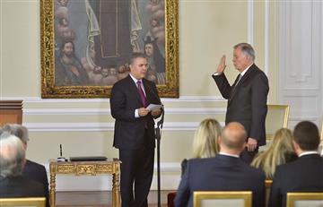 Ordóñez toma posesión como embajador de Colombia ante la OEA