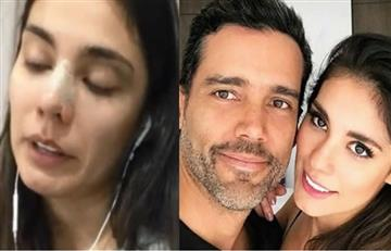 Actriz Eileen Moreno denuncia que fue golpeada por su novio