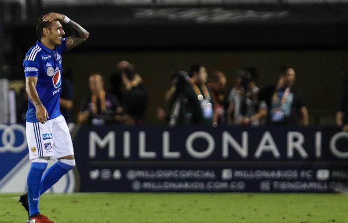 Juan Guillermo Domínguez es sancionado por la Dimayor. Foto: AFP