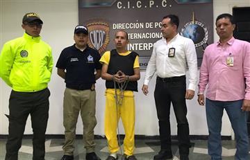 Llega a Bogotá el 'Lobo Feroz', extraditado por Venezuela