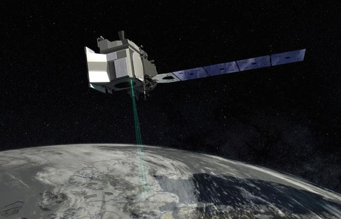 El satélite partió para hacer su estudio. Foto: Twitter