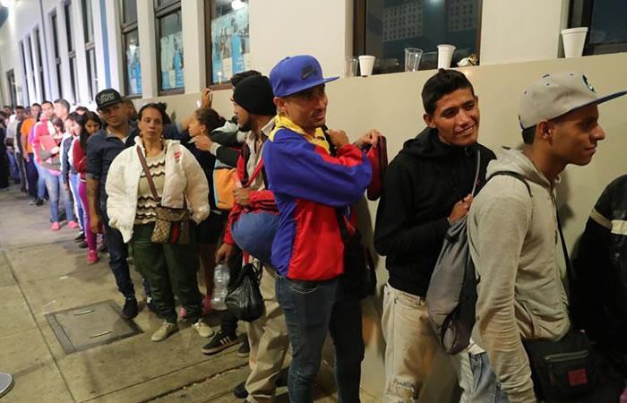 La crisis en Venezuela sí existe. Foto: EFE