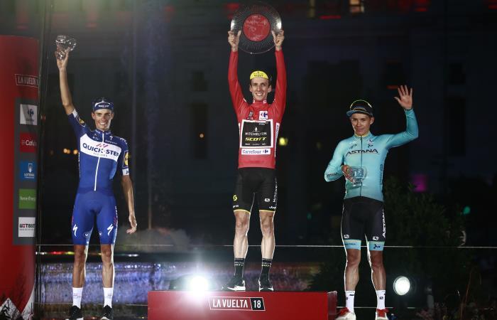 Vuelta a España: 'Superman' López y su tercer puesto en la competencia