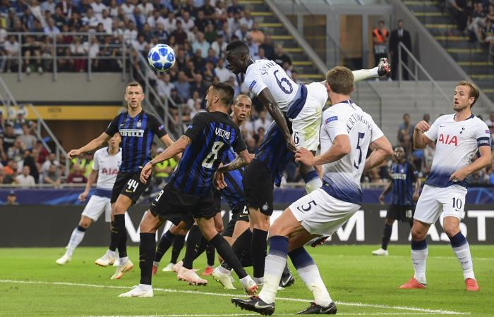 Champions League: Tottenham con Dávinson Sánchez, cae ante Inter de Milán