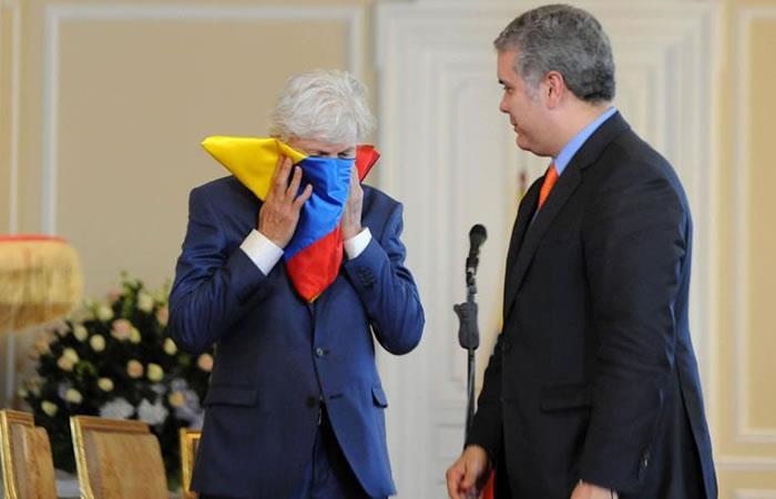 José Pekerman recibe importante reconocimiento del presidente Iván Duque