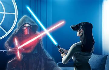 El poder de un Jedi fluye con la realidad aumentada de Levono y Disney