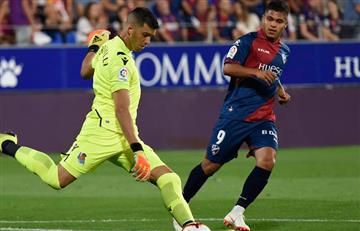 La Liga: 'El Cucho' Hernández titular en la derrota del Huesca