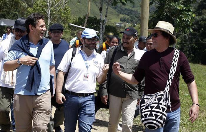 Excombatientes de las FARC conmemoran el Día Internacional de la Paz