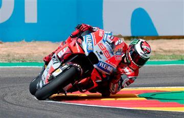 Jorge Lorenzo logró la 'pole' del Gran Premio de Aragón de MotoGP