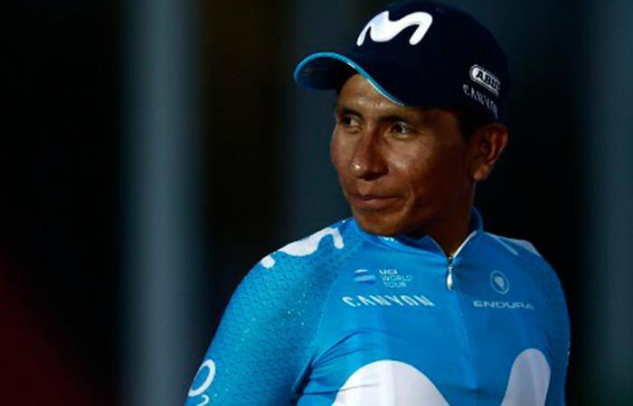 Nairo Quintana  Foto:AFP