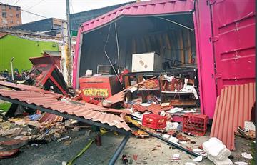 Suba: Incendio en Bogotá deja numerosos afectados