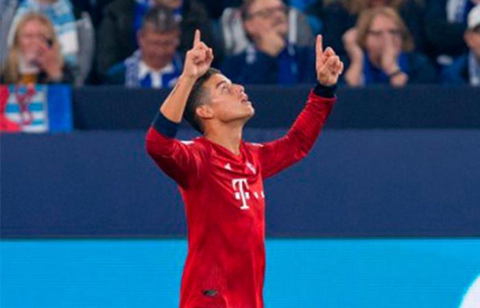 [VIDEO] James Rodríguez abrió con golazo el marcador para el Bayern Múnich
