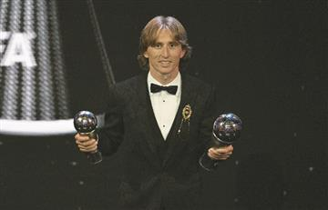 [VIDEO] Luka Modric y un merecido The Best