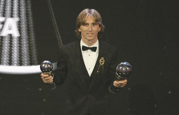 [VIDEO] Luka Modric y un merecido The Best