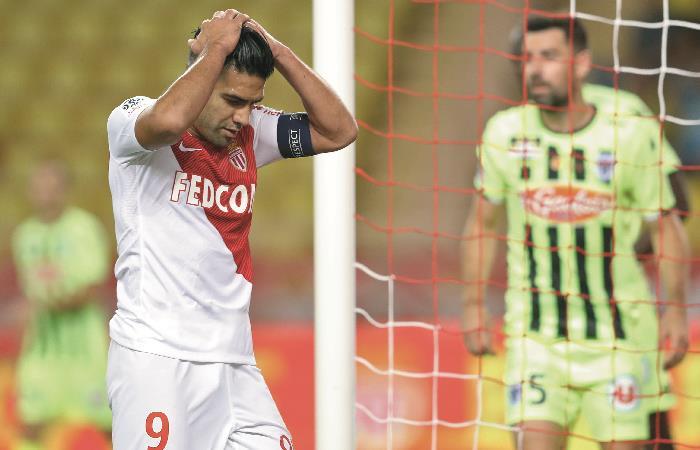 Preocupación en Mónaco por una mala racha de resultados. Foto: AFP