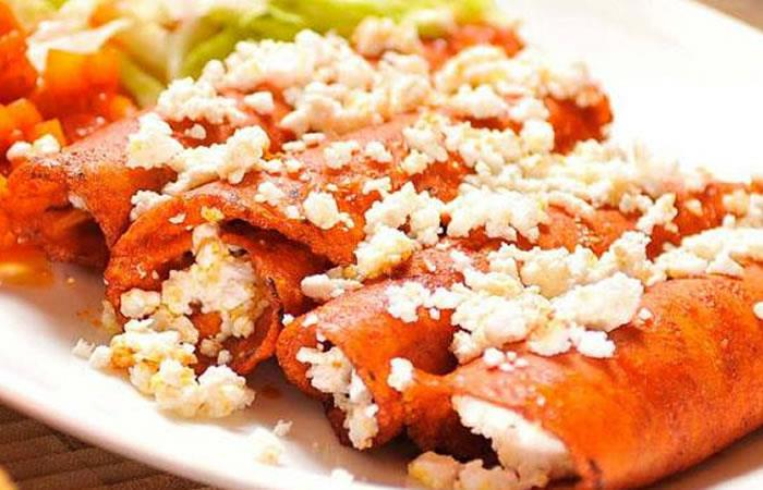Wraps de salmón y queso