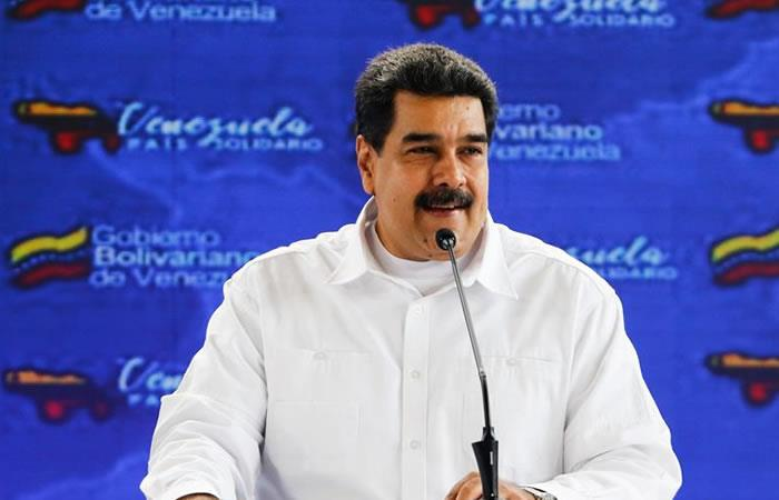 Nicolás Maduro retó a Iván Duque. Foto: EFE