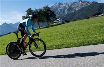 Mundial de Ciclismo: [VIDEO] Rodrigo Contreras cumplió con una buena contrarreloj