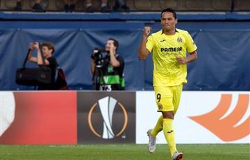 [VIDEO] Bacca, titular en la goleada del Villareal