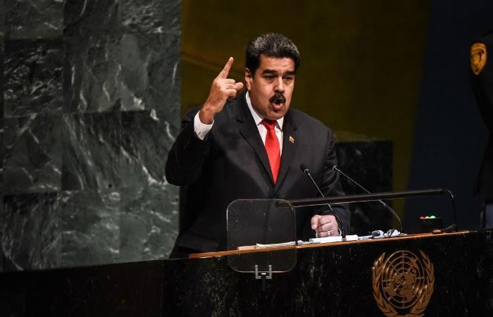 Maduro denuncia en la ONU