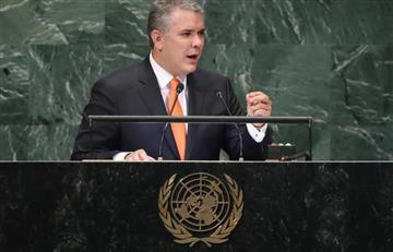 """ONU: Duque exige en el fin de la """"dictadura"""" y el """"éxodo trágico"""" de Venezuela"""