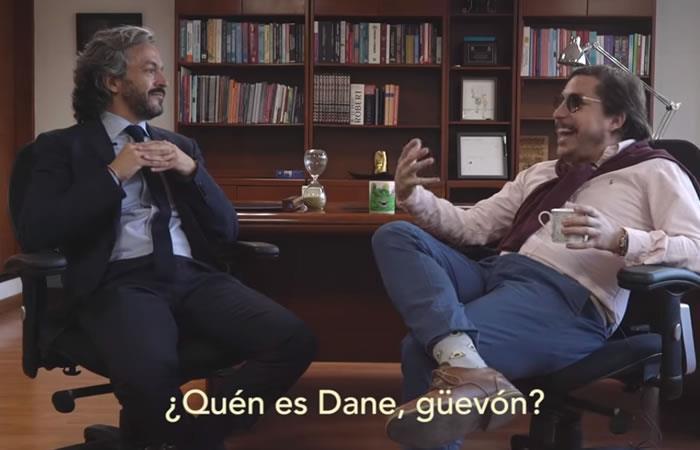 Director del DANE y 'Juanpis' González tienen un 'cara a cara'