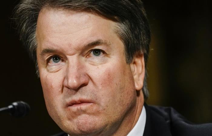 El juez Brett Kavanaugh testifica este 27 de septiembre de 2018 ante la Comisión Judicial del Senado, en Washington. Foto: AFP